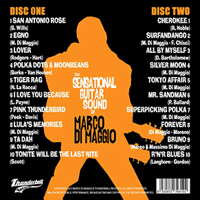 The SENSATIONAL GUITAR SOUND of MARCO DI MAGGIO